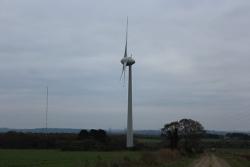 Éoliennes de Coat Conval